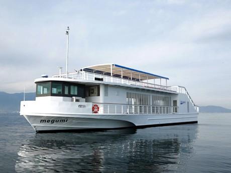 琵琶湖汽船の新船「megumi」が「シップ・オブ・ザ・イヤー2008」に選ばれた。