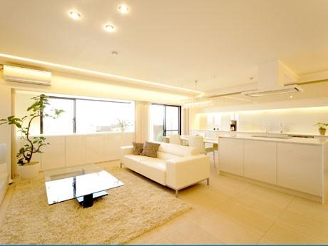 大津・朝日が丘にある築年数20年のマンション「シャリエ大津朝日が丘」の1室をリノベーション。