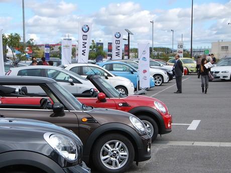 輸入車50台の輸入車がズラリと並ぶ「第9回滋賀輸入モーターショー」