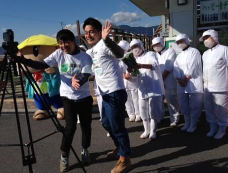 CMでは愛彩菜を豪快にかみちぎって笑いをとるよしもと・滋賀県住みます芸人のファミリーレストラン