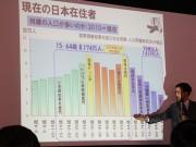 大津で「地域人材を考えるフォーラム」-「里山資本主義」の藻谷浩介さん講演