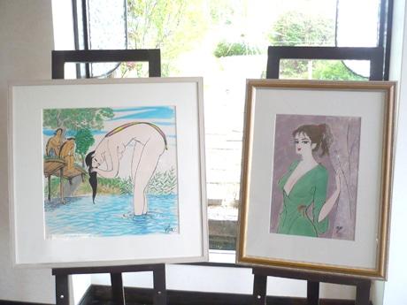 「黄桜」カッパなどの美人画で知られる小島功さん 大津で没後初の展覧会
