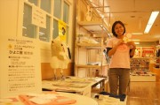 ユニバーサルデザインの子ども服 西武大津店で展示販売