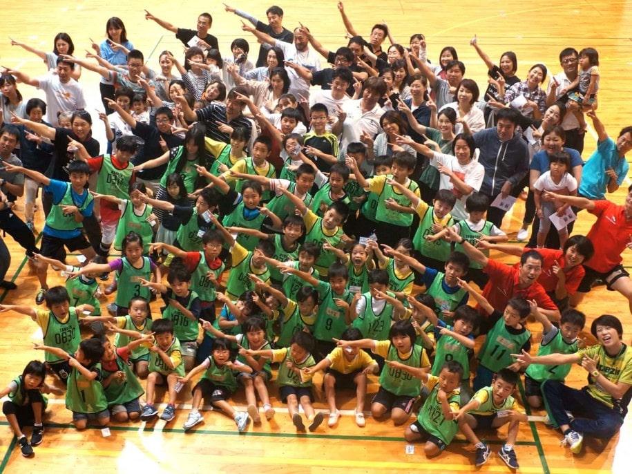 草津市親子で学ぶ走り方教室 運動会のヒーローに