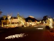 草津川跡地公園が一夜限りの「野外映画館」に
