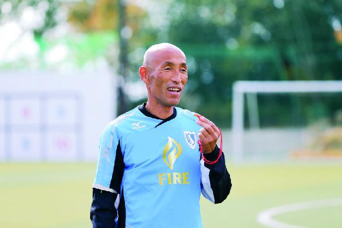 びわこ成蹊スポーツ大学サッカー部監督で元「なでしこジャパン」コーチの望月聡さん