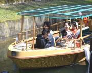 びわ湖疏水船67年ぶりに復活 越大津市長の6年越しの夢かなう