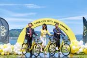 大津でシェアサイクル始動 回遊性向上で街のにぎわい創出へ