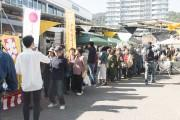 大津駅前で「金米祭り」 地元の名産品やバーベキュー芸人による講座も