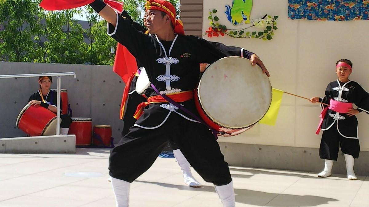 琉球國祭り太鼓滋賀支部の演舞