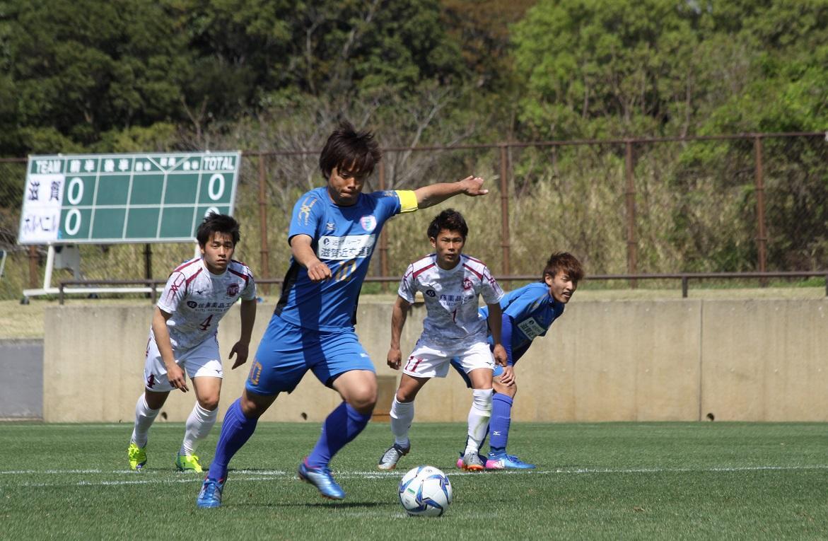 レイジェンド滋賀FC背番号10番 吉田実成都選手