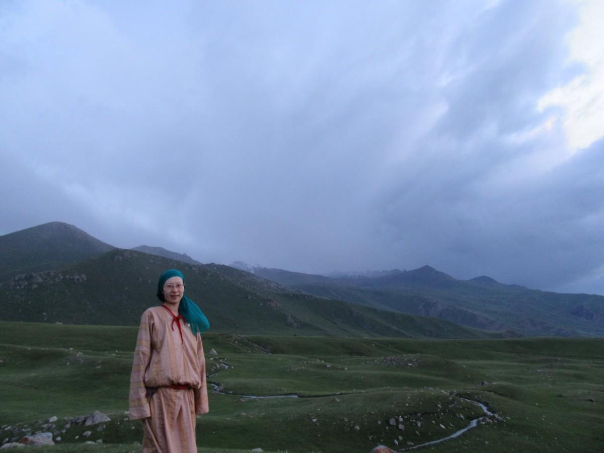 キルギスで活動していた西田さん
