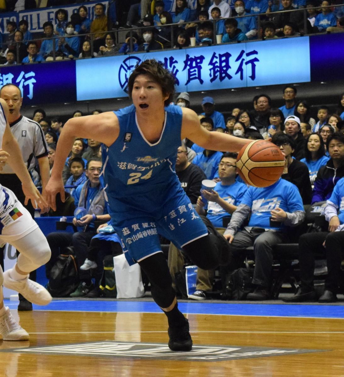 7日にキャリアハイの27得点した高橋耕陽選手