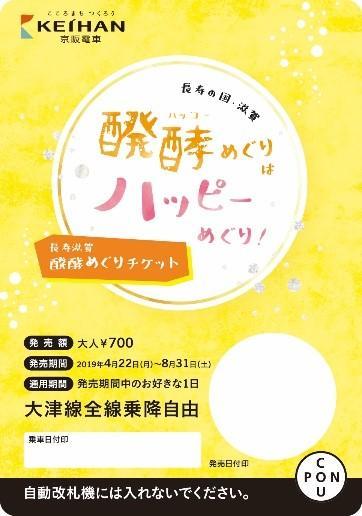「長寿滋賀 醗酵めぐりチケット」