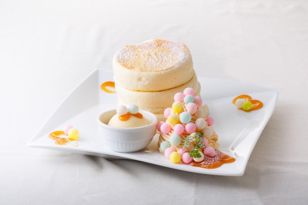 期間限定のアプリコットクリームパンケーキ