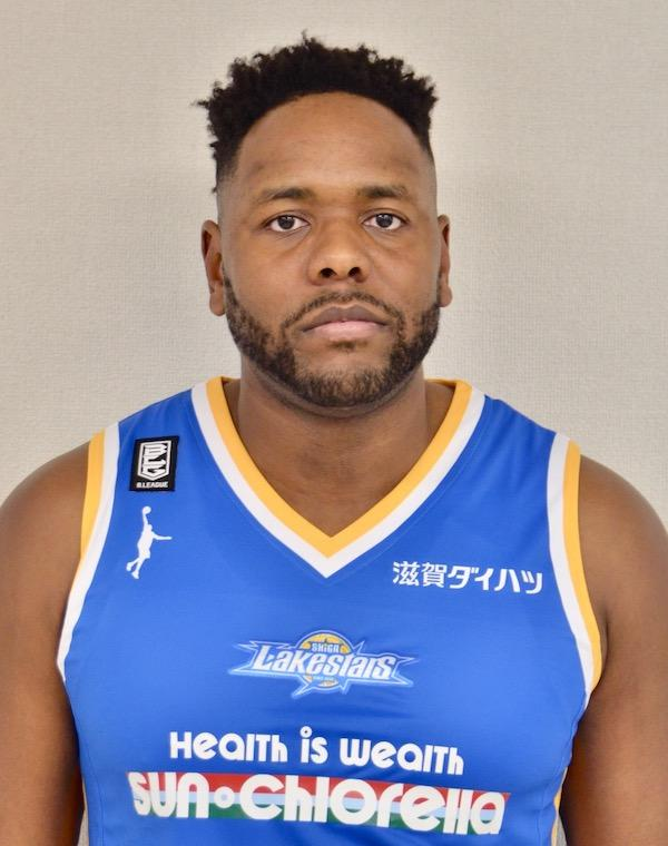 クレイグ・ブラッキンズ選手(滋賀レイクスターズ提供) © SHIGA LAKESTARS