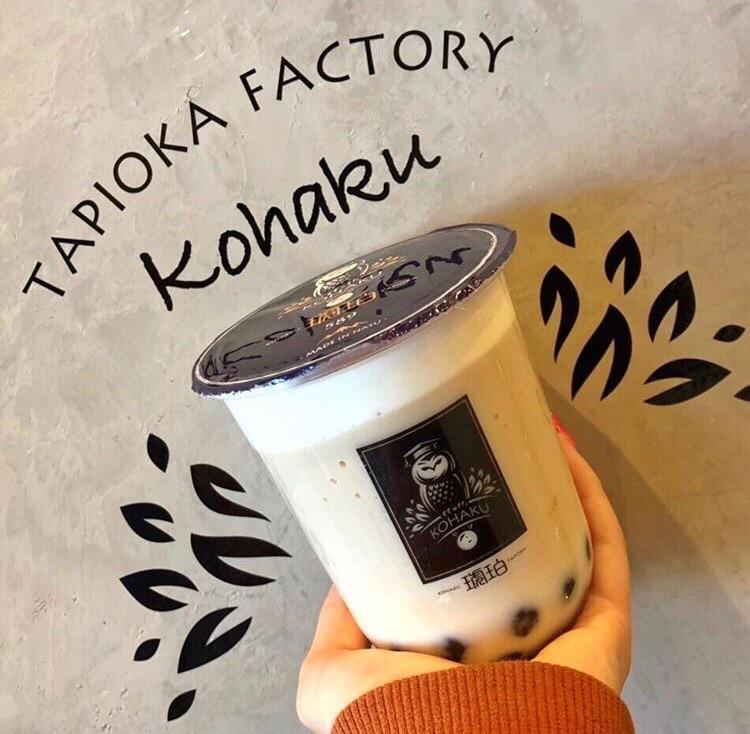 タピオカドリンク専門店「琥珀-KOHAKU-アルプラザ草津店」にはインスタ映えするフォトスポットも