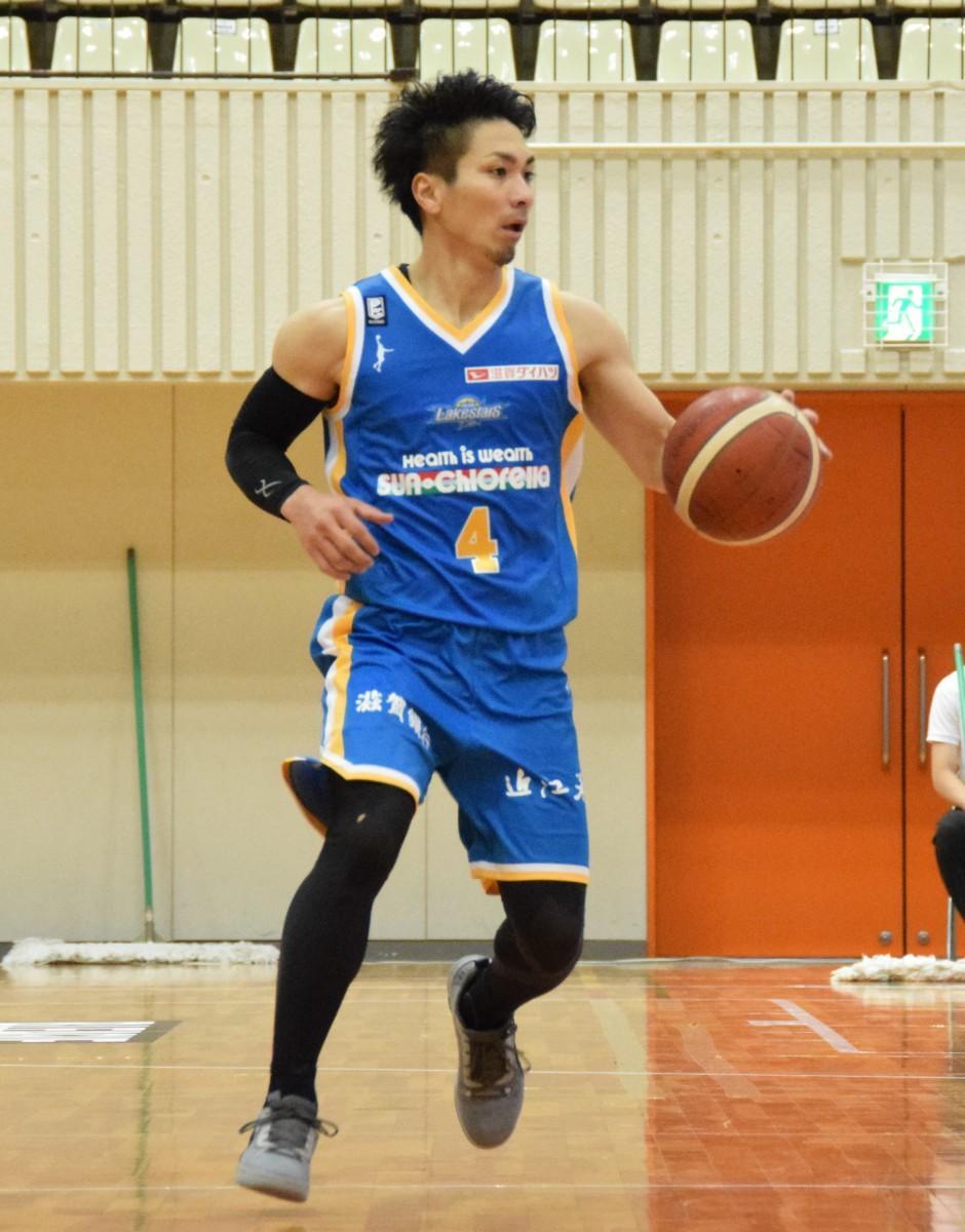 ゲームメーク、得点、精神面でもチームをけん引するキャプテン・狩俣昌也選手