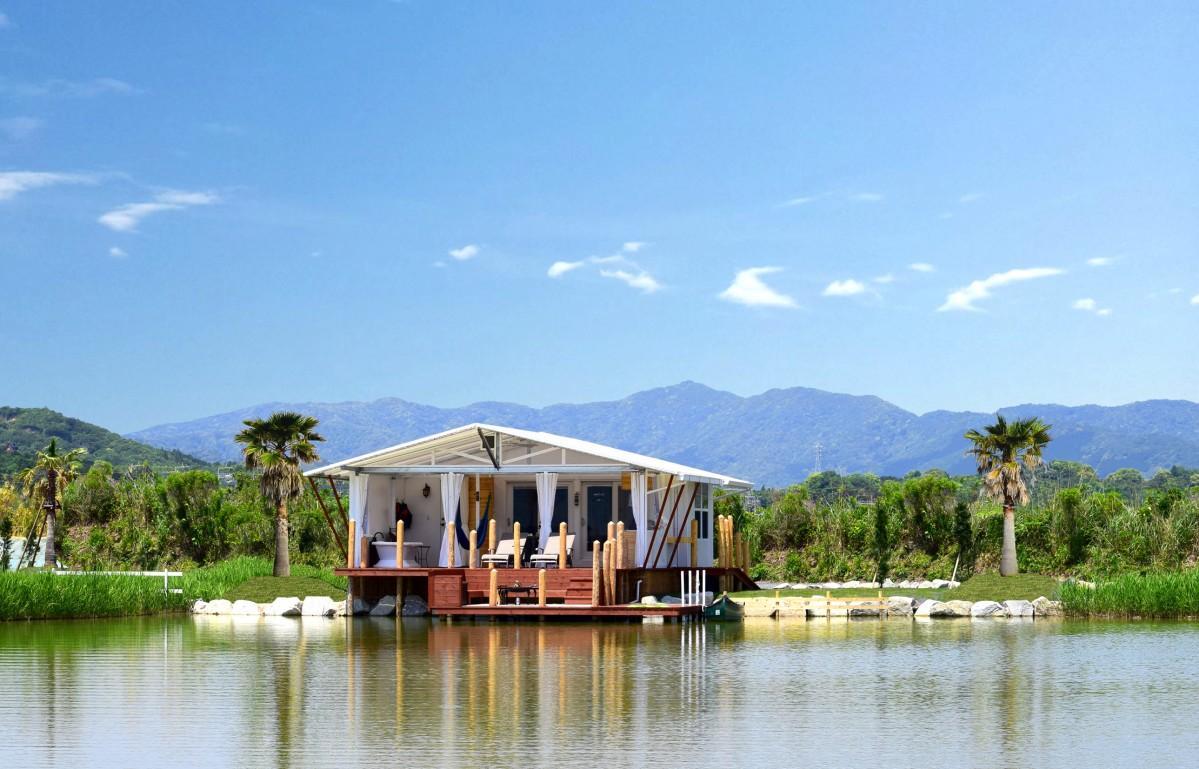 湖畔のヴィラ(宿泊棟)イメージ