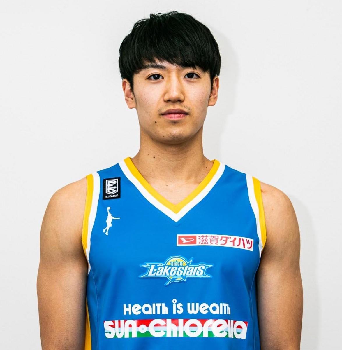 滋賀レイクスターズに特別指定選手として加入した筑波大学の野本大智選手(写真提供:滋賀レイクスターズ)