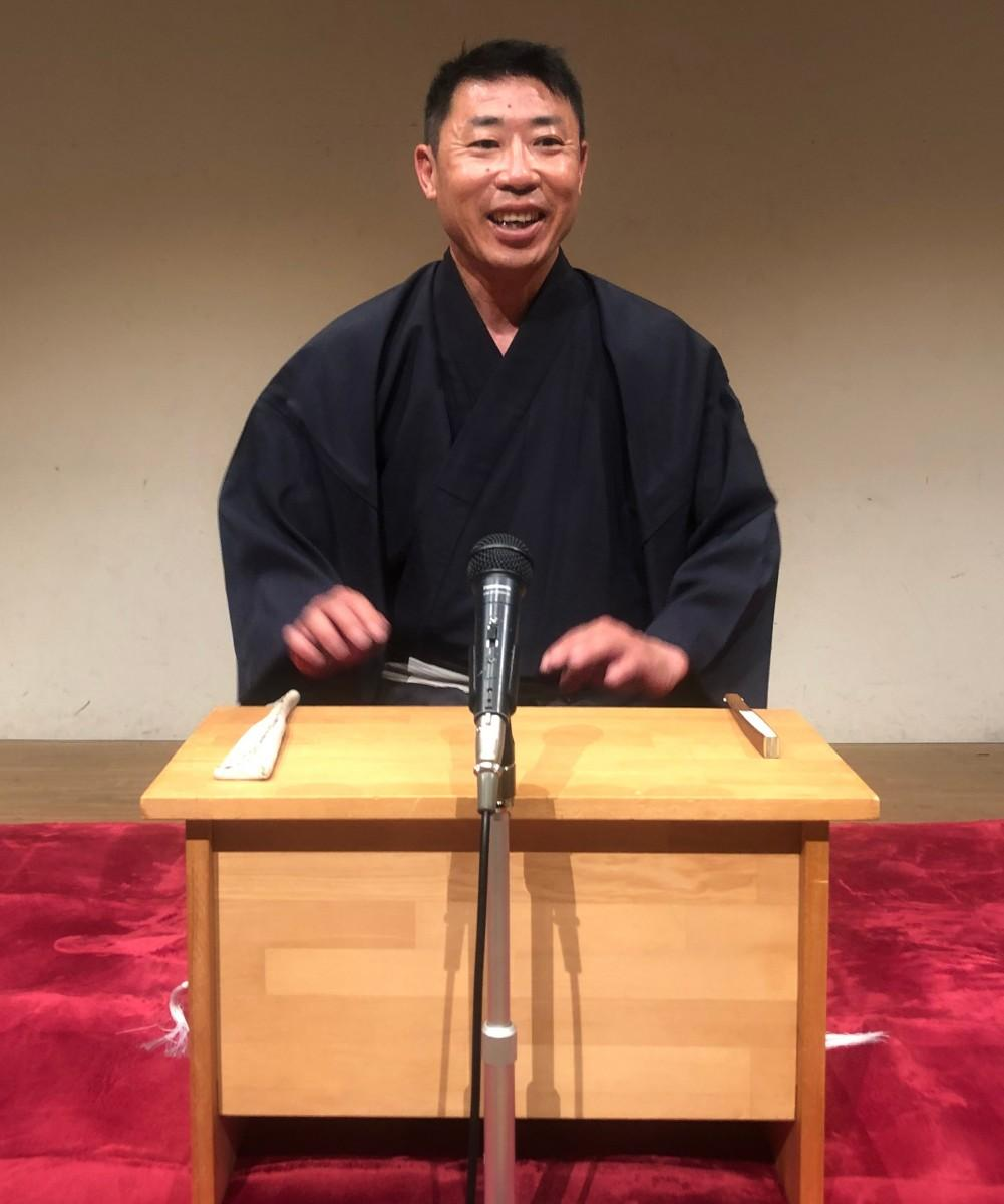 滋賀県在住の講談師、旭堂南風さん