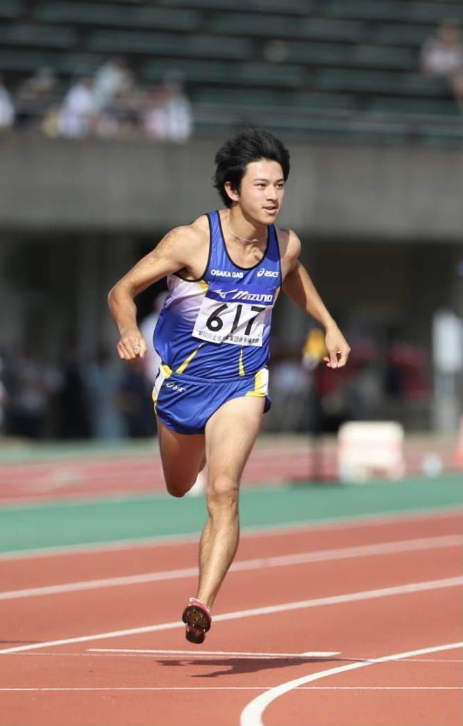 ロンドンオリンピック陸上100メートル日本代表の江里口匡史さん