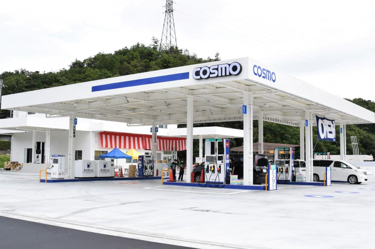 災害時、避難所として機能するガソリンスタンド