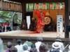 「蝉丸芸能祭」蝉丸の鎮座する関蝉丸神社で 大津