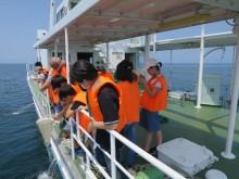 琵琶湖で地球科学を学ぶ「ジュニアドクター育成講座」 研究者を育てる