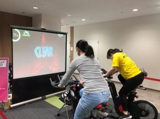 草津で運動体験イベント ゲームを楽しみながら「知らず知らずのうちに運動」