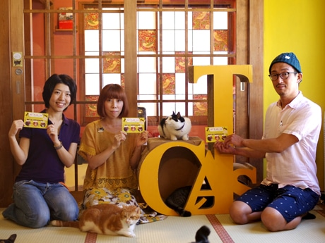 主催の3店。左から徳永有可さん、海老原久美さん、町山友康さん