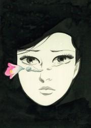 文京の弥生美術館で「わが青春の『同棲時代』 上村一夫×美女解体新書展」