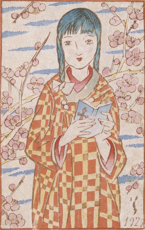 文京の竹久夢二美術館で企画展 夢二が描いた春夏秋冬250作品