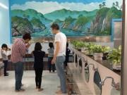 文京・目白台の銭湯で子ども写真教室 浴場を舞台に撮影