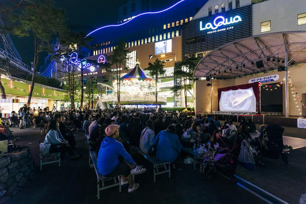 昨年度の「LaQua cinema-go-round(ラクーア シネマゴーランド)」の様子