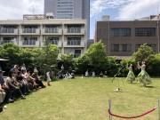 本駒込・東洋文庫ミュージアム中庭で「インディアン・ビアガーデン」