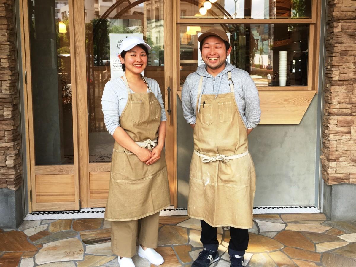 オーナーシェフの鈴木雄登さんと真澄さん夫婦
