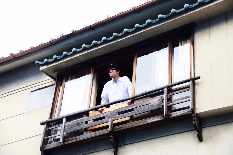 鳳明館 森川別館の外観 「あゝ青春の下宿部屋」イメージ