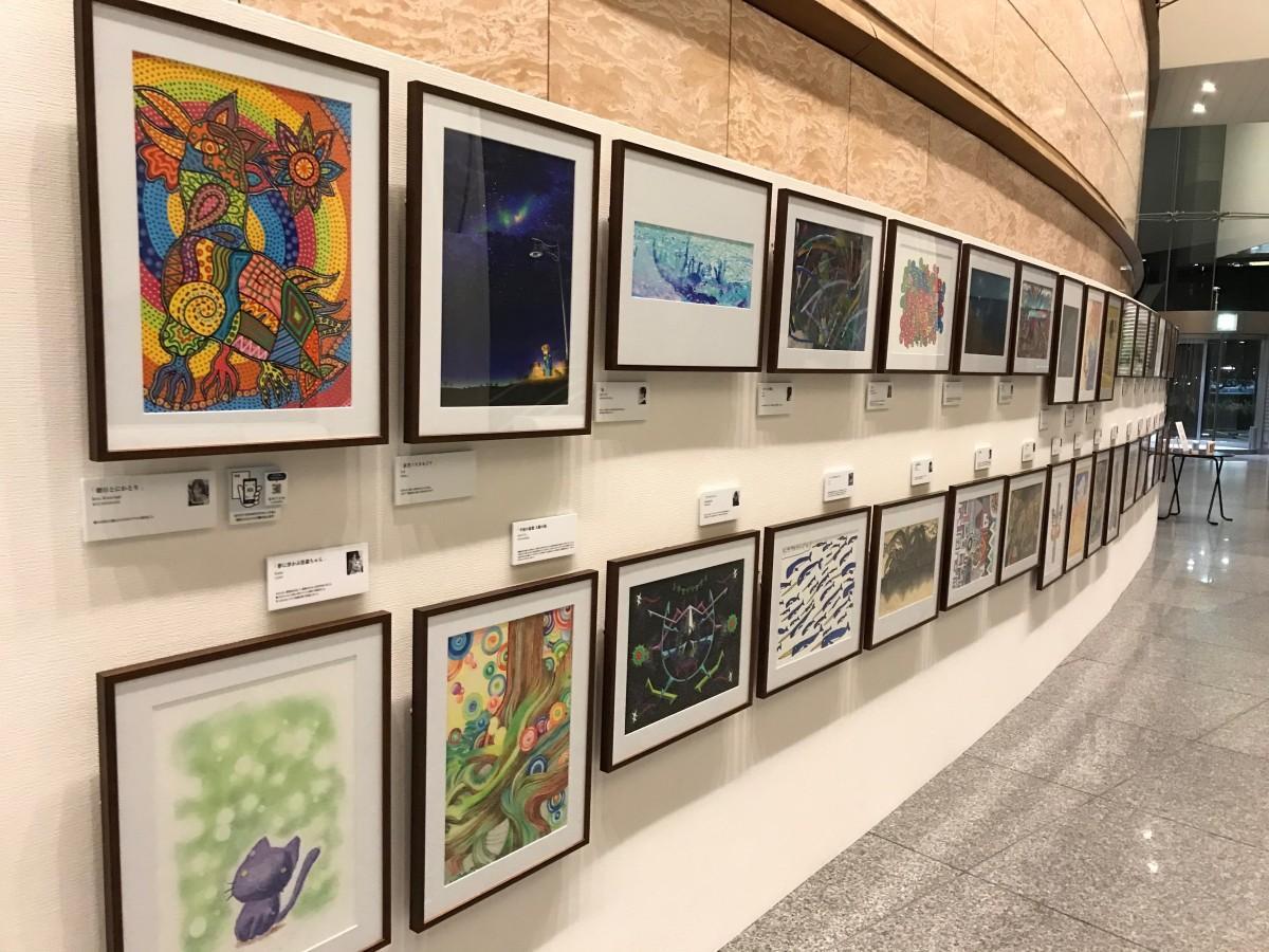 「可能性アートプロジェクト展2020」展示の様子