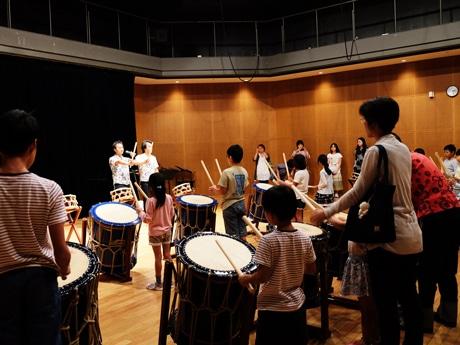 千葉市美浜文化ホールで「打楽器&舞踊ワークショップ」 成果披露で舞台出演も