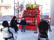 千葉・地域全体でおもてなしひな祭り 勝浦市から借りたひな人形がきっかけで