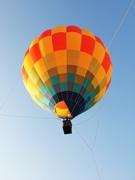 千葉市泉自然公園で熱気球搭乗体験 地上30メートルから園内を一望