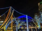 千葉中央公園を中心にイルミネーション LED35万球の電飾が街を包む