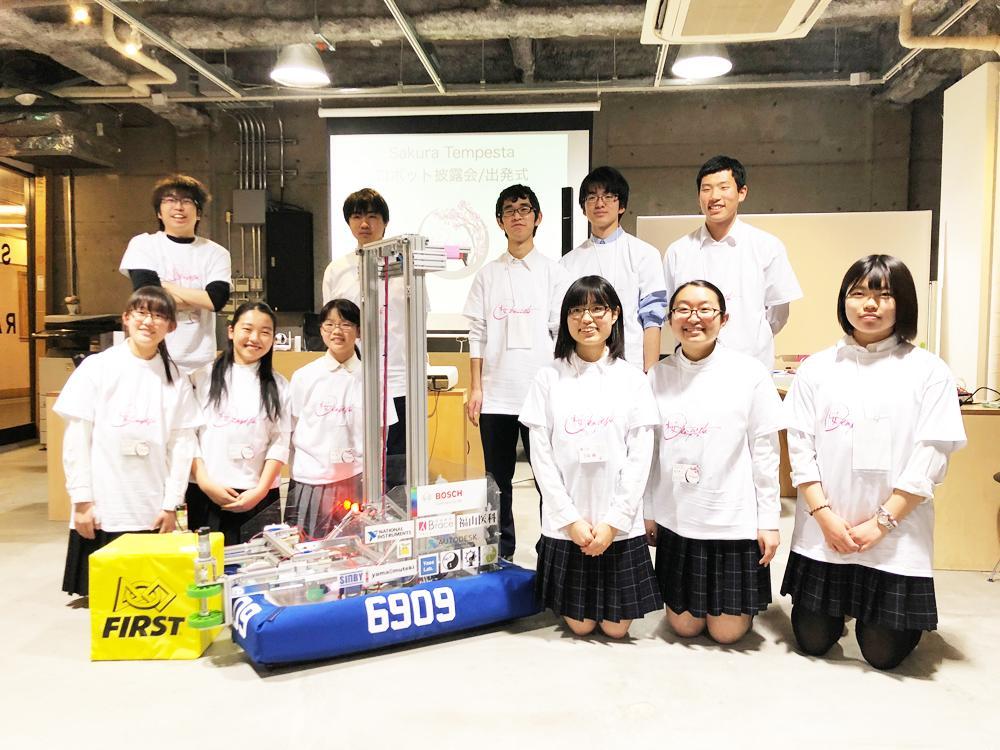 チーム「SAKURA Tempesta」のメンバー