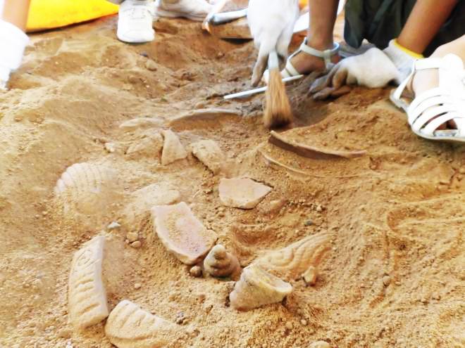 考古学者のお仕事体験「発掘調査」