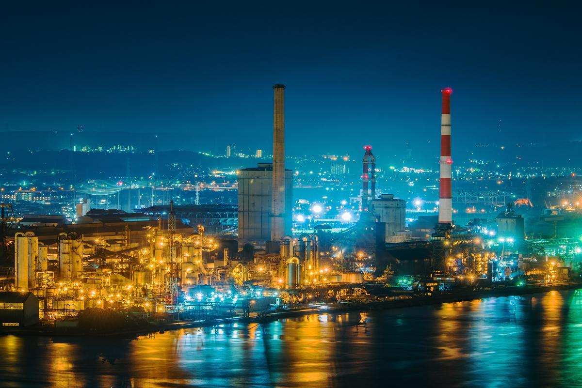 千葉ポートタワーから眺める夜景 平野博之さん撮影