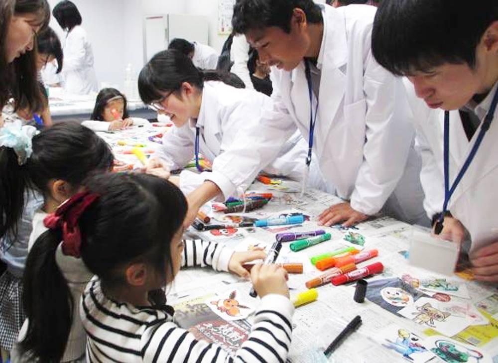 楽しい実験教室(昨年開催の様子)