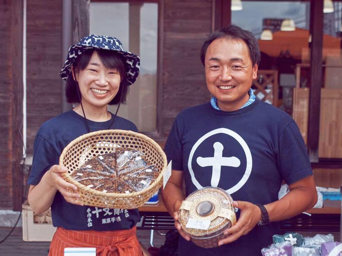 くりはらツーリズムネットワーク事務局長の大場寿樹さん(右)