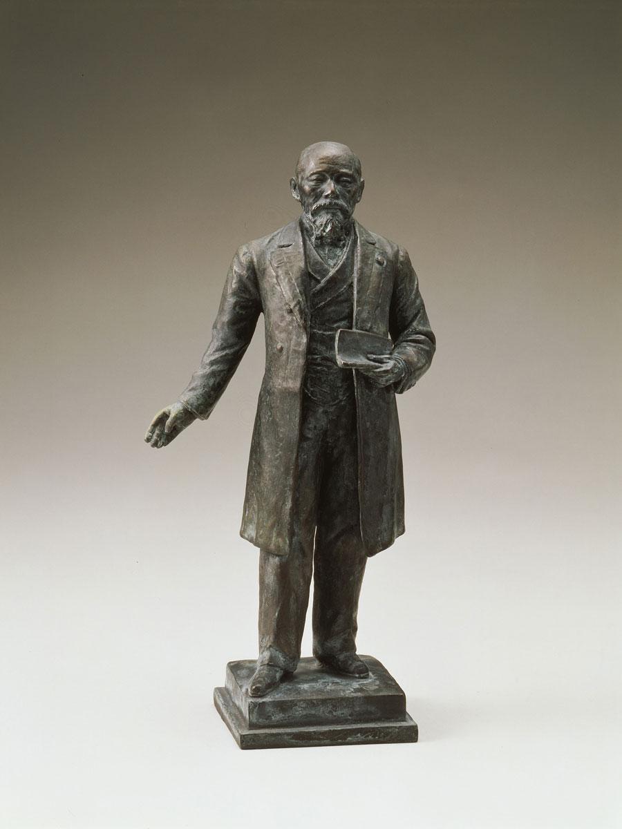 小倉惣次郎「伊藤博文像」 1903年~1904年 千葉県立美術館蔵