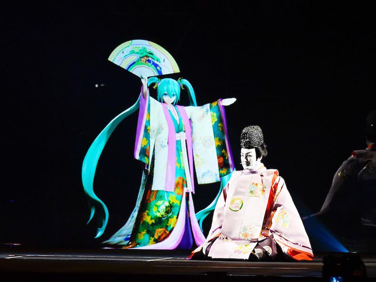 「超歌舞伎 Supported by NTT」©ニコニコ超会議2018